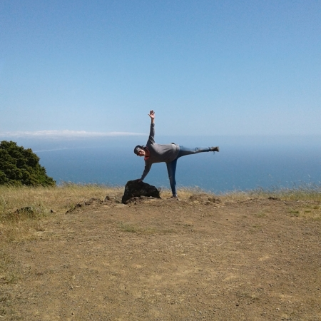 mt tamalpais, a girl on her own